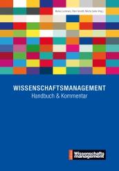 Wissenschaftsmanagement: Handbuch & Kommentar
